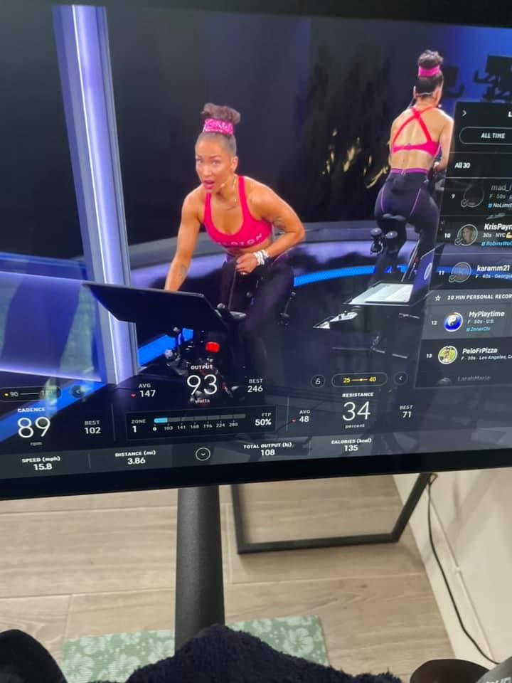 peloton workout